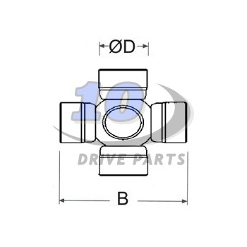 CROISILLON Ø 27x88 (RIVÉ) ORIGINAL MERCEDES BENZ SPRINTER 906 2005-2013