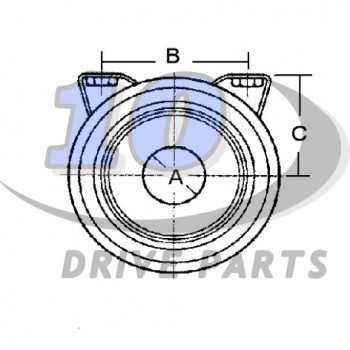 CENTER SUPPORT BEARING SEAT