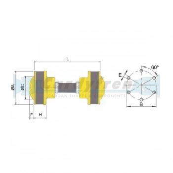CV SHAFT HYDRADRIVE L 154 SERIES 108/113