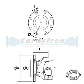 PLATO S.1610 DIN 150x8x12.1 E91.9