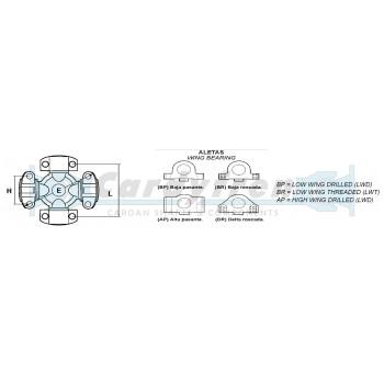 CRUZ MECHANICS S.511 4-AP H60 L146 E180