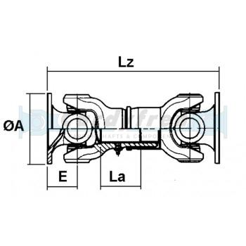 TRANSMISSION A CARDAN ELBE 0.105 Lz 280