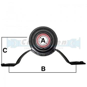 Soporte rodamiento Audi A4 / A6