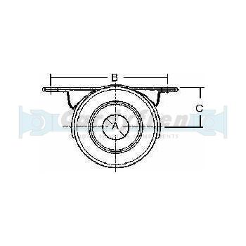Soporte rodamiento BMW X3 (Equiv. OE 26123413997)