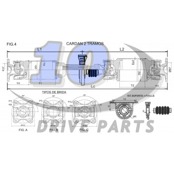 DRIVESHAFT MERCEDES BENZ SPRINTER