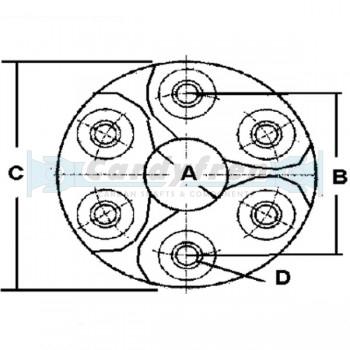 BMW DAMPER (EQ. 26 11 1 229 065)