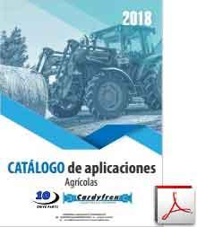 Catálogo de transmisiones cardan y componentes agrícolas