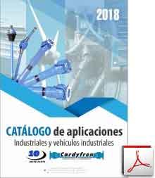 Catálogo de transmisiones cardan y componentes para industria y vehiculos industriales